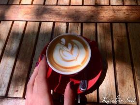 Kam na kávu a jídlo v SantaCruz